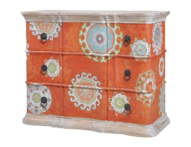 Комод Harmony Chest In Mottled Tangerine Guild Master