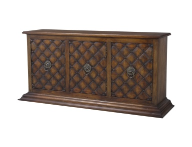 Буфет Carved Credenza In New Signature Stain Guild Master