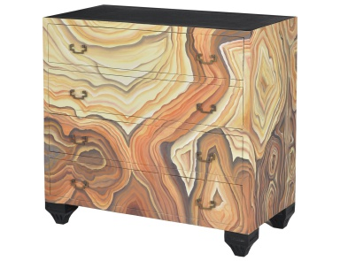 Комод Parma Chest With Hand Painted Wood Grain Motif Guild Master