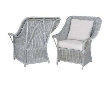 Кресло Retreat Chairs In Waterfront Grey Stain And White Wash - Set of 2 Guild Master