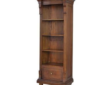 Шкаф St. Joseph Open Single Cabinet In Woodlands Stain Guild Master