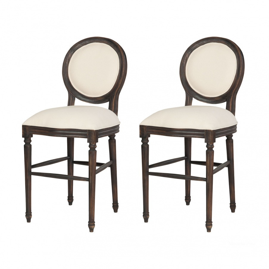 Кресло Allcott Counter Stool In Ash Black Stain - Set of 2 Guild Master