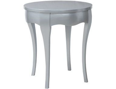 Стол Manor Accent Table In Antiqued Silver Leaf Guild Master