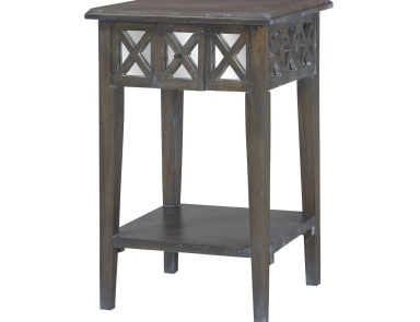 Стол Heritage Side Table In Heritage Dark Grey Stain Guild Master