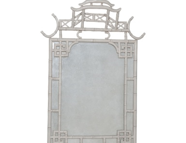 Настенное Bamboo Temple Antiqued Mirror Guild Master