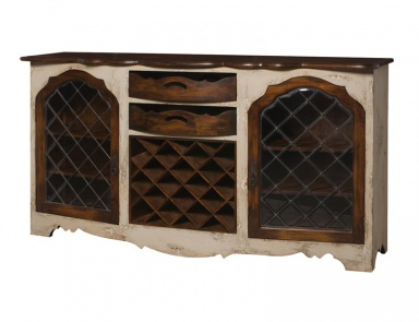 Буфет Credenza With Wine Storage Guild Master