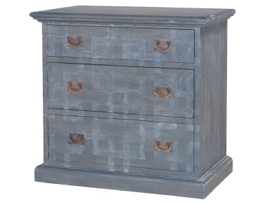 Комод Manor Three Drawer Side Chest Guild Master