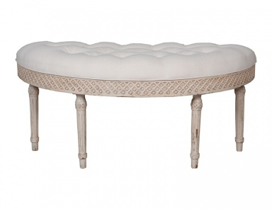 Скамья Curved Upholstered Bench Guild Master
