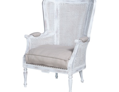 Стул Chelsea Wing Back Chair Guild Master