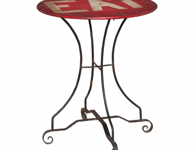 "Стол 24"" Metal Bistro Table Guild Master"