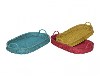 Поднос Oval Rattan Trays Guild Master