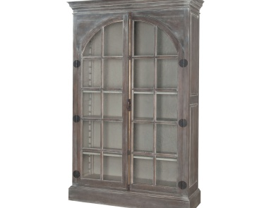 Шкаф Manor Arched Door Display Cabinet Guild Master