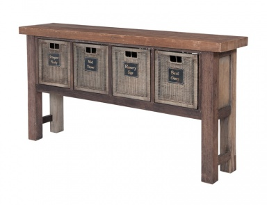 Стол Reclaimed Wood Worktable Guild Master