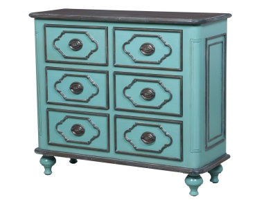 Комод Waterfront Six Drawer Hall Chest Guild Master
