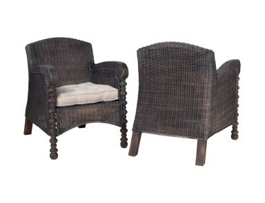Стул Wicker Flanders Chair - Pair Guild Master