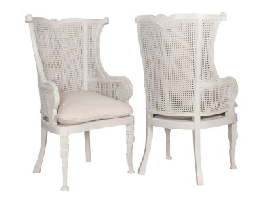 Стул Caned Wingback Chair Guild Master