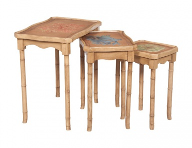 Стол Bamboo Nesting Tables Guild Master