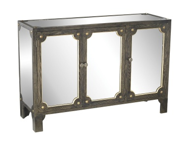 Шкаф Jules Mirrored Cabinet Sterling