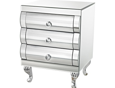 Стол Claire Accent Table Sterling