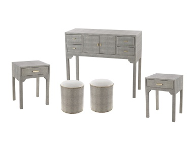 Комод Sands Point 5 Piece Furniture Set Sterling