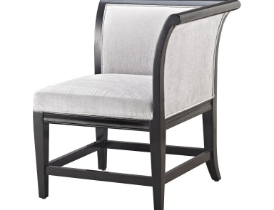 Кресло Ostrava Chair In Black And Silver Sterling
