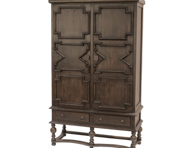 Комод Tobin Cabinet In Heritage Grey Stain Sterling