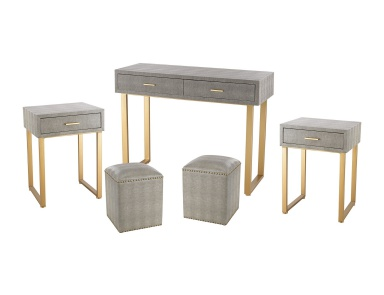 Гарнитур Beaufort Point 5-Piece Furniture Set Sterling