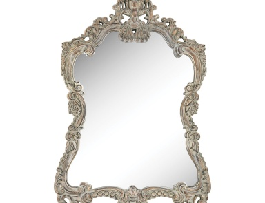 Настенное Regence Composite Frame Wall Mirror In Aged Grey Sterling