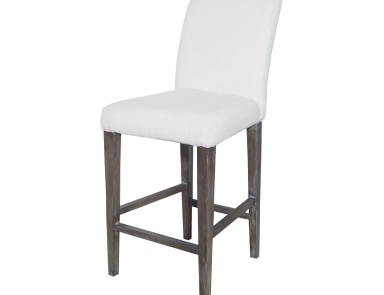 Табурет Couture Covers Parsons Bar Stool In Heritage Stain With White Wash Sterling