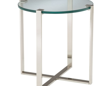 Стол Uptown Side Table Sterling