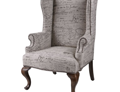 Стул Marianne Wing Chair Sterling