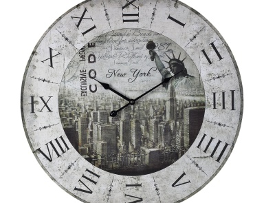 Часы настенные New York, New York Clock Sterling