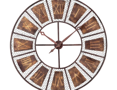 Часы настенные Outdoor Wall Clock Sterling