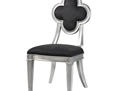 Стул Petal Back Dining Chair In Grey Sterling