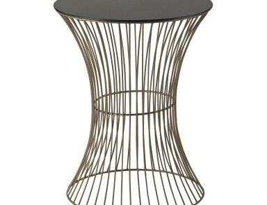 Стол Thurcott-Curved Drum Table Sterling
