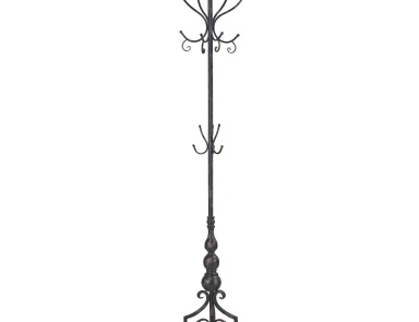 Вешалка Stocks Bridge Coat Rack In Distressed Black By Sterling