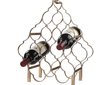 Стеллаж винный Quatrefoil Wine Rack Sterling