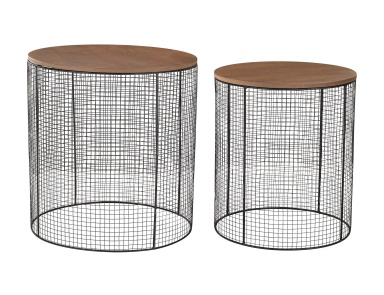 Стол Wire Side Tables Sterling