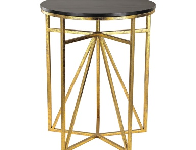 Стол Geometric Accent Table Sterling