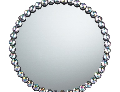 Настенное Jewel Edged Mirror Sterling
