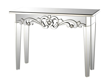 Стол Mirrored Scroll Console Sterling