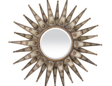 Настенное Centauri Starburst Beveled Mirror Sterling