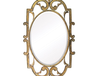 Настенное Woodside Beveled Mirror Sterling