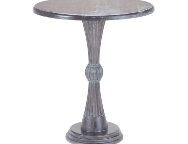 Стол Modern Hour Side Table In Heritage Grey Dark Stain Sterling