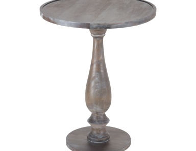 Стол Hamptons Side Table In Waterfront Grey Stain With White Wash Sterling
