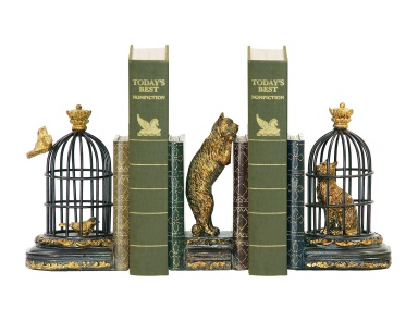 Книгодержатель Pair of Trading Places Bookends Sterling