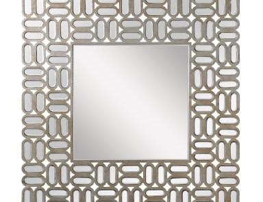 Настенное Square Alternating Oblong Mirror Mirror Masters