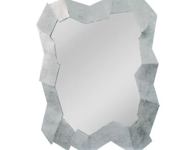 Настенное Abstract Cut Stone Design Multi-Dimensional Mirror Mirror Masters