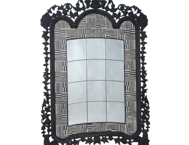 Напольное Large Carved Incised And Beveled Floor Mirror Mirror Masters