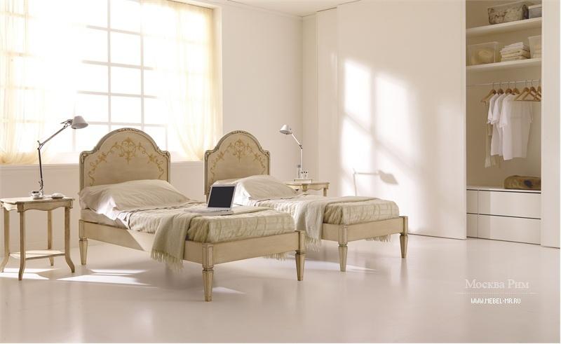 односпальная кровать производитель Silvano Grifoni мебель мр